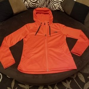 Women's North Face zip up Hoodie with Pockets